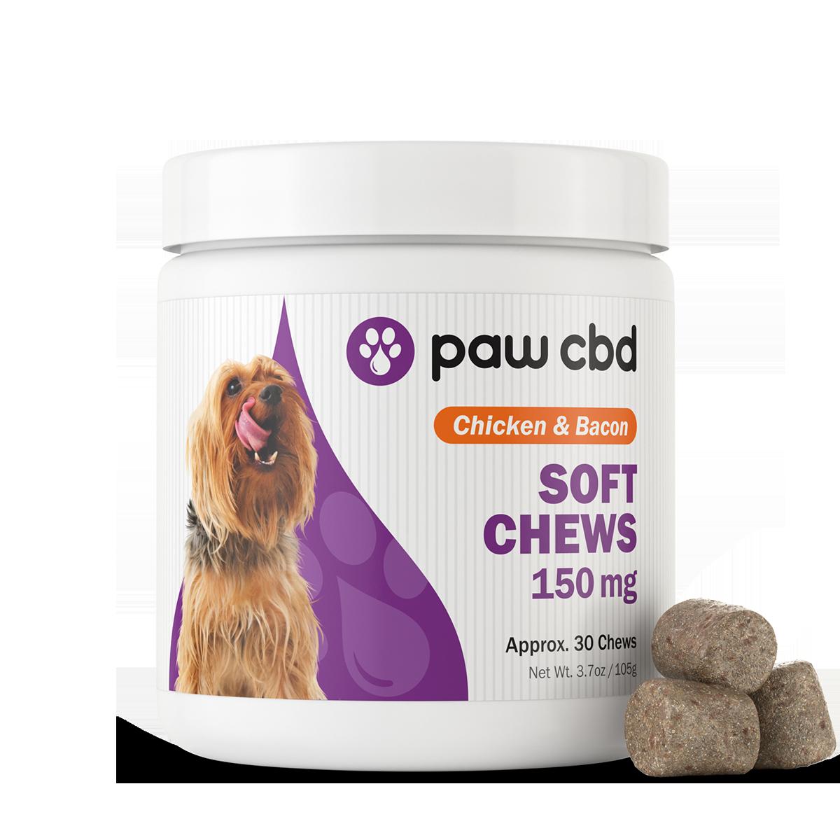 Paw CBD Soft Chews 150mg, 30ct