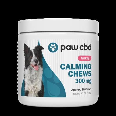 Paw CBD Calming Chews 300mg, 30ct.