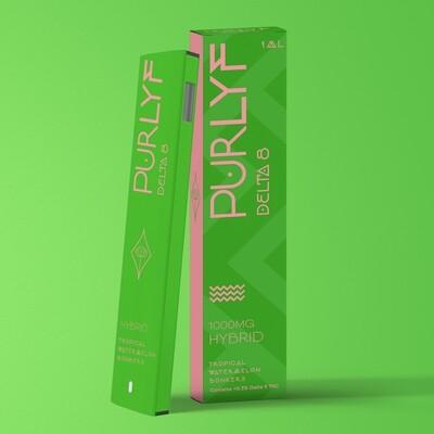 PurLyf Delta 8 Disposable 1ml - Tropical Watermelon