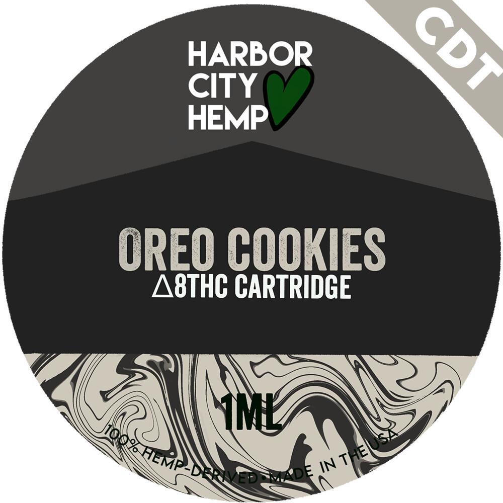 Harbor City Hemp Delta 8 vape 1ml Oreo Cookies