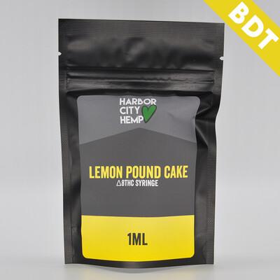 Delta 8 Syringe - Lemon Pound Cake, 1ml