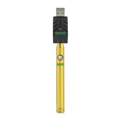 Ooze Twist Slim Pen Battery - Gold