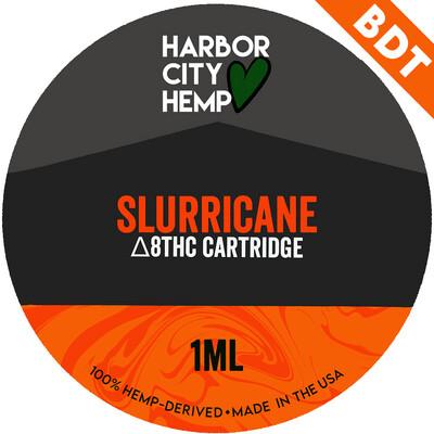 Harbor City Hemp Delta 8 vape 1ml Slurricane