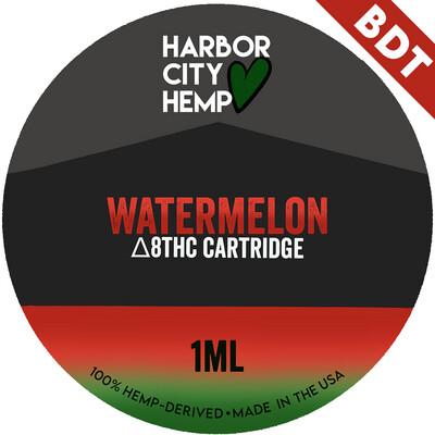 Harbor City Hemp Delta 8 vape 1ml Watermelon