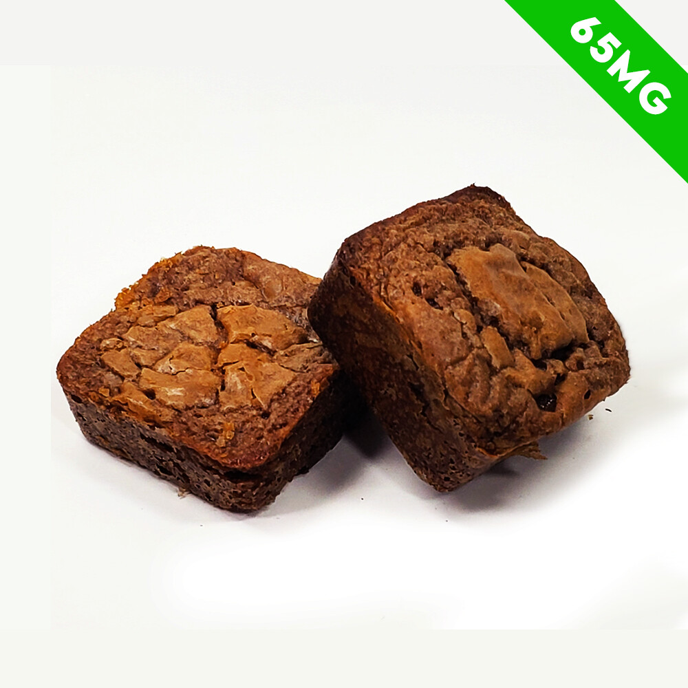 Delta 8 Infused Brownie Bite - 65mg