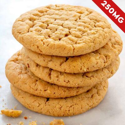 Delta 8 Super Potency Peanut Butter Cookie - 250mg