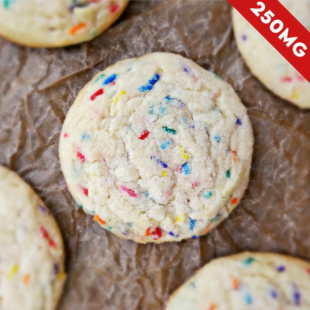 Delta 8 Super Potency Sprinkle Cookie - 250mg