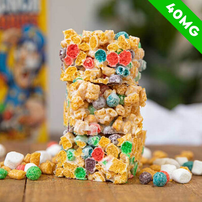 Delta 8 Infused Crunch Berry Treat