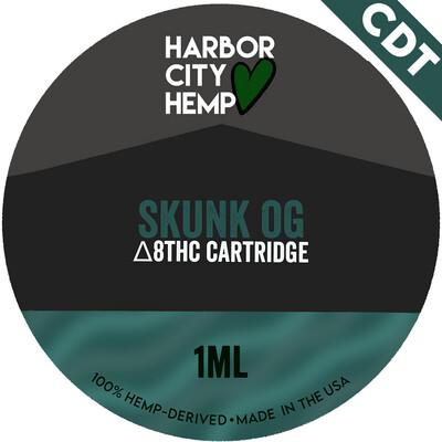 Harbor City Hemp Delta 8 vape 1ml OG Skunk