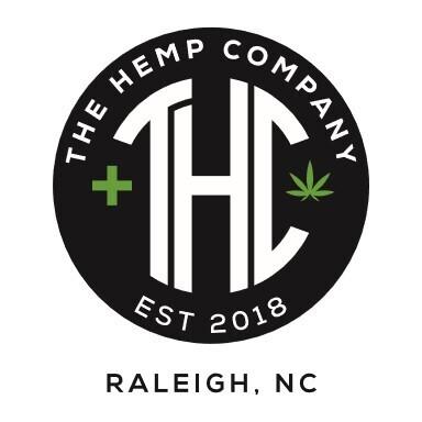 THC Logo Hoodie, Black