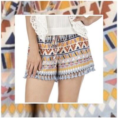 Ethnic Pull-On Short
