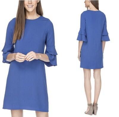 Royal Bell Sleeve Dress