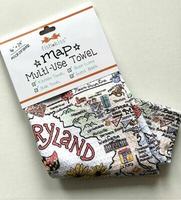 Maryland Tea Towel