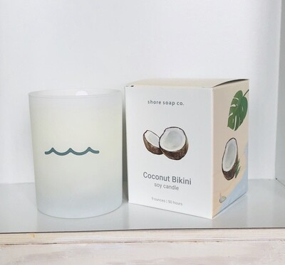 Glass Candle SS