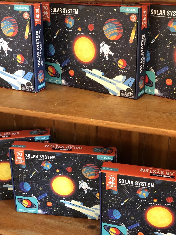 70 piece solar system puzzle