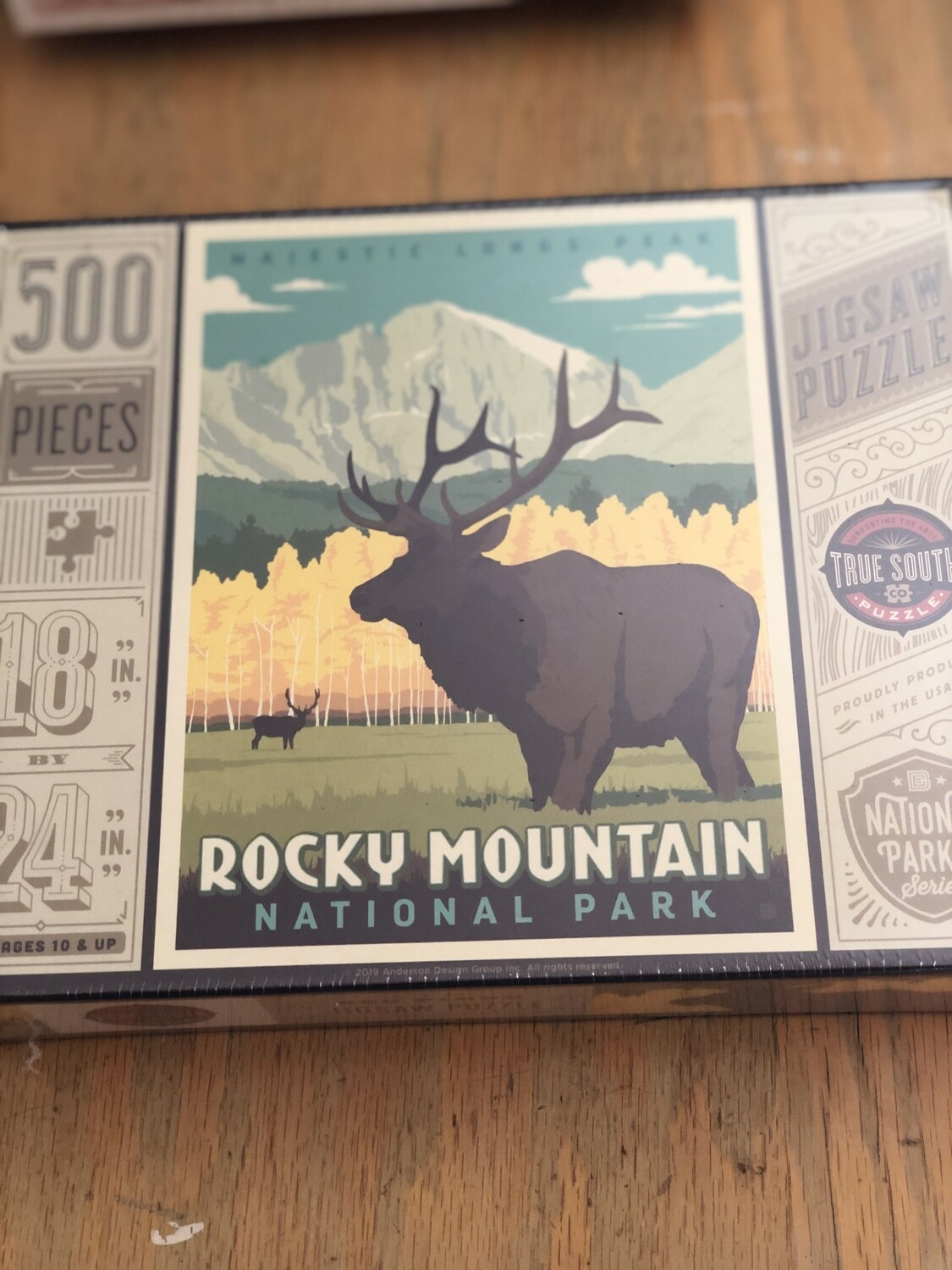 500 piece Rocky Mountain National Park puzzle