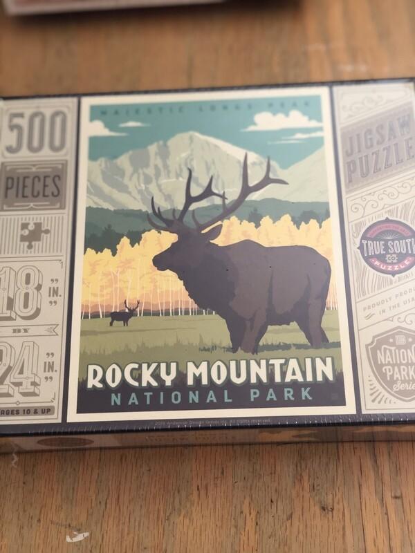 500 piece Rocky Mountain National Park puzzle