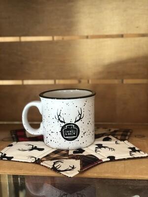 Kit - Mug rug & Inkwell Logo Mug