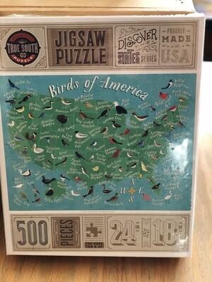 500 piece Birds of America puzzle