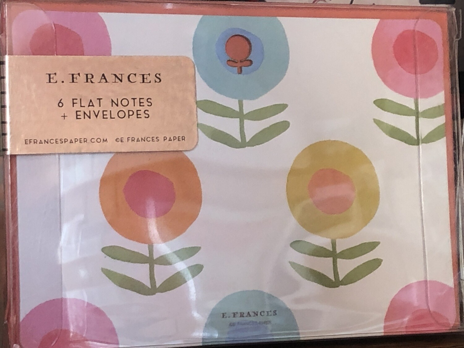 E. Frances boxed cards