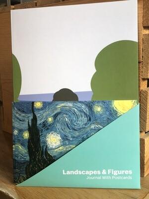 Landscapes and Figures Journal/Postcards