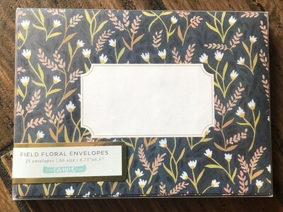 Field Floral Envelopes