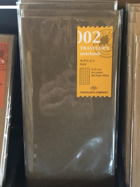Traveler's Ntbk Refill, Regular Size
