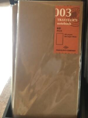 Kraft Traveler's Ntbk Refill Pack
