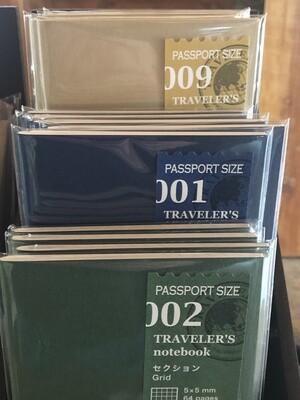Traveler's Ntbk Refill, Passport