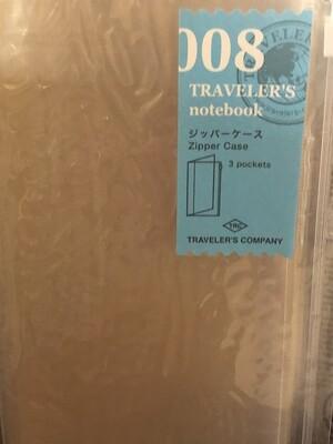 Zipper Case regular size, Traveler's Ntbk