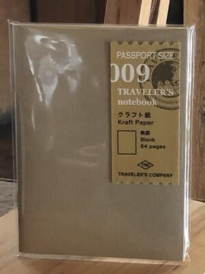 Kraft Refill, Passport Size