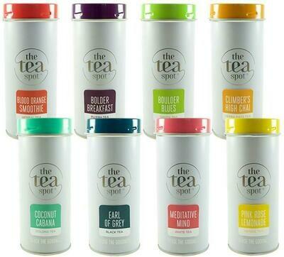 Tea Spot Tea Tins