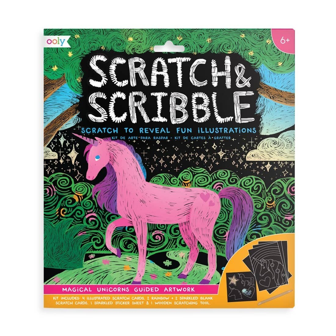 Scratch Scribble, Unicorns