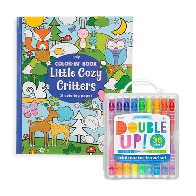 Double Up Cozy Critter Pack