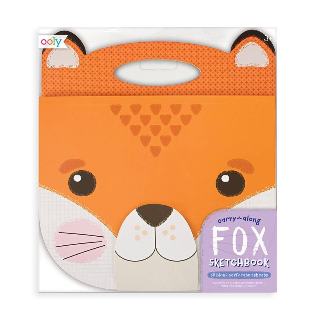 Carry Along Fox Sketchbook