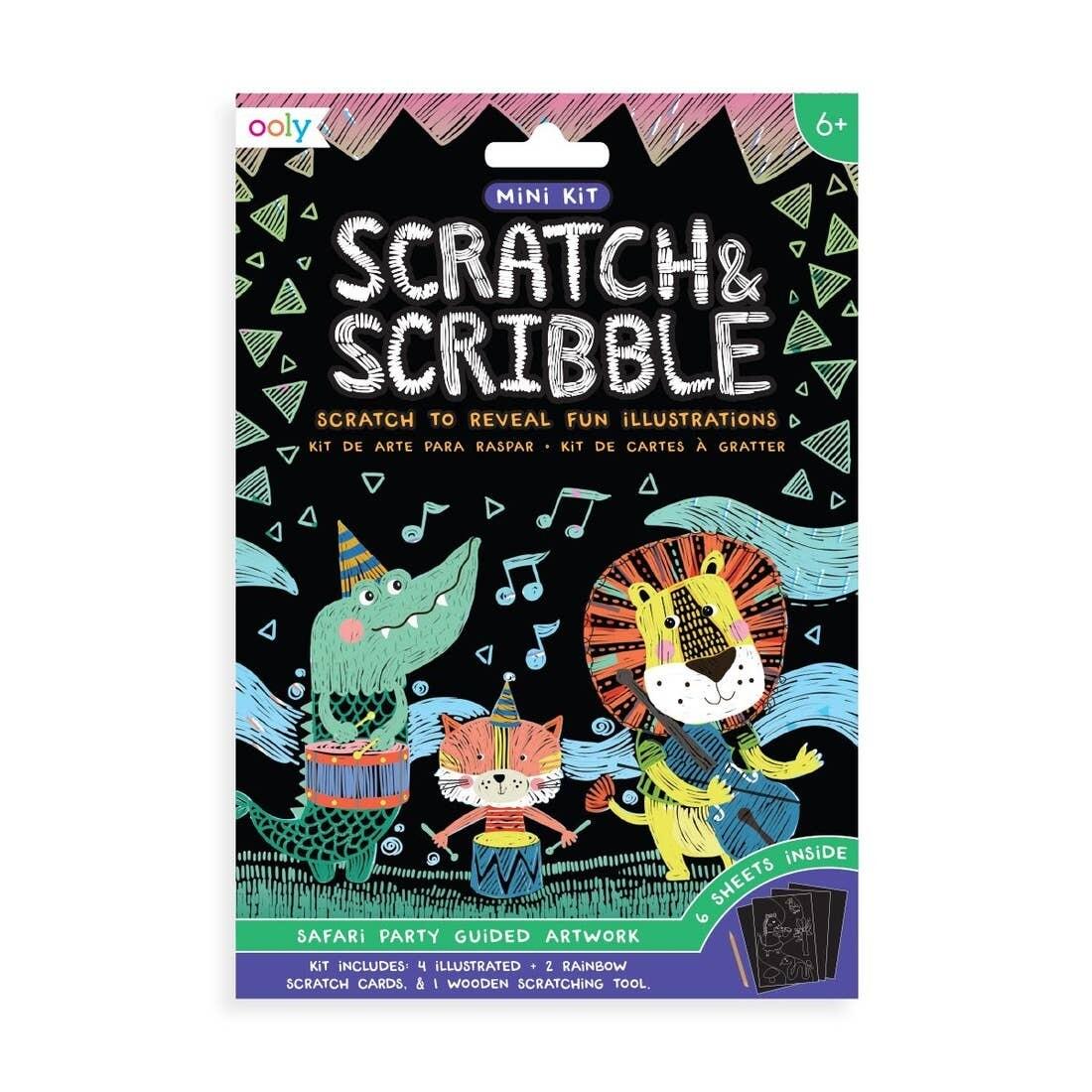 Mini Scratch Scribble, Safari