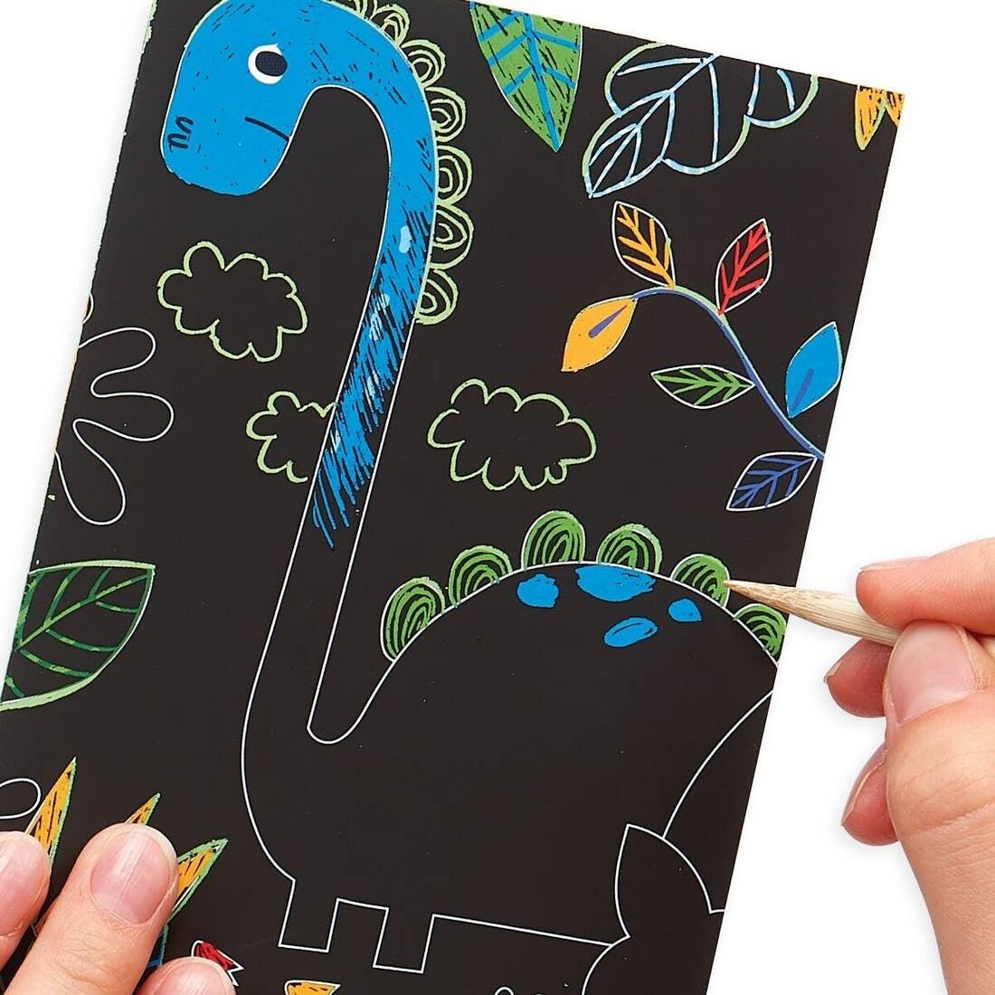 Mini Scratch Scribble, Dino Days