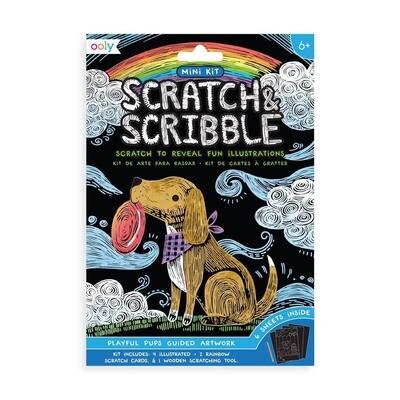 Mini Scratch Scribble, Pups