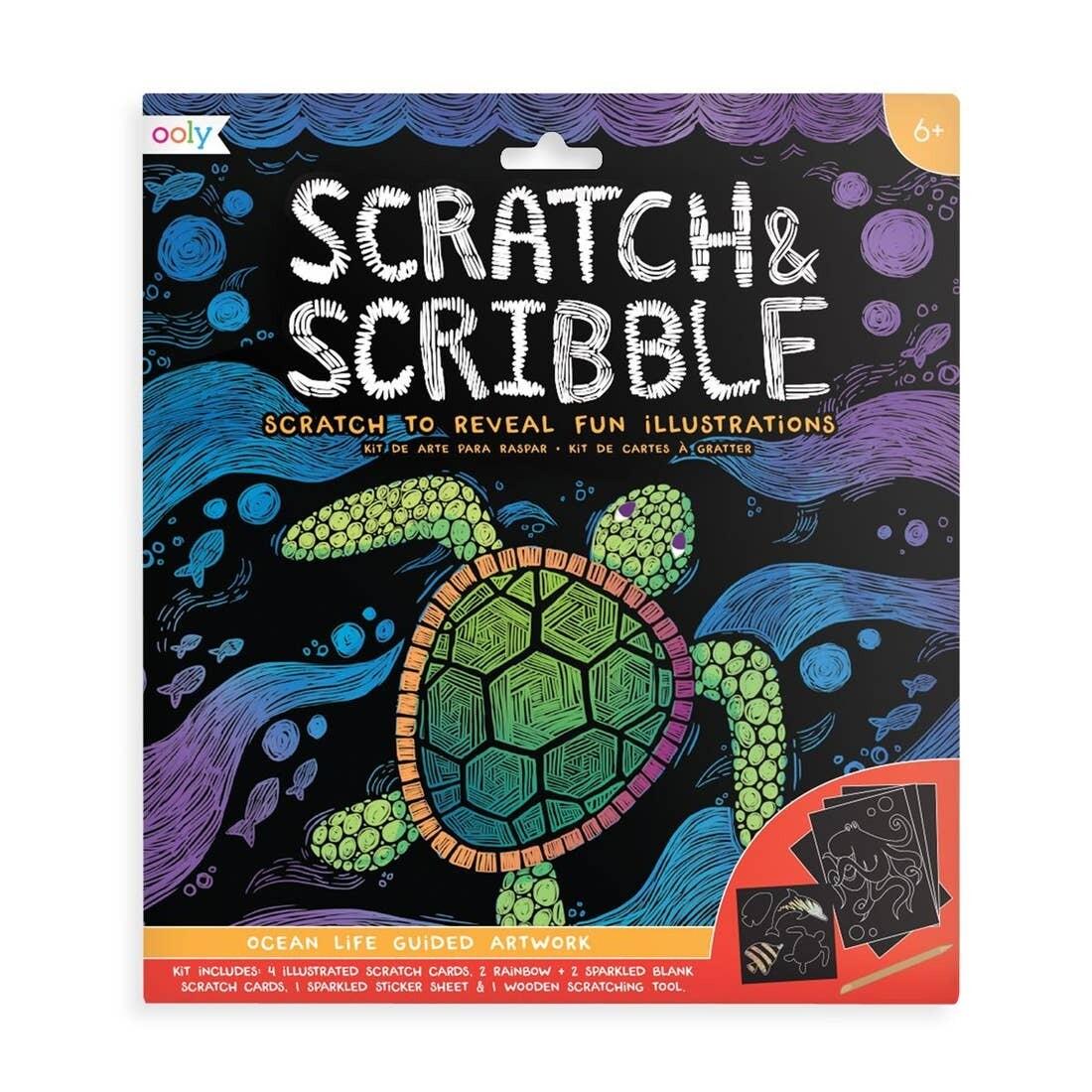 Scratch Scribble, Ocean Life