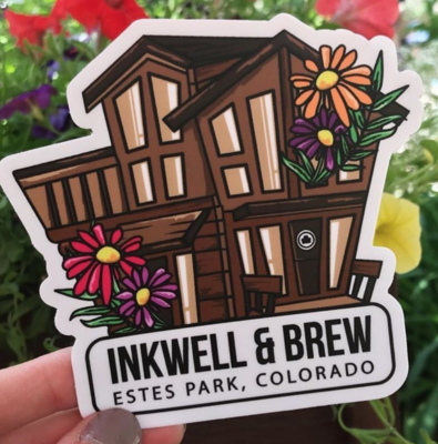 Inkwell building sticker