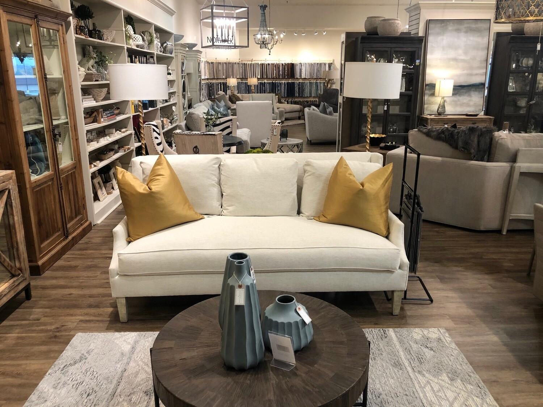 Scoop Arm Sofa