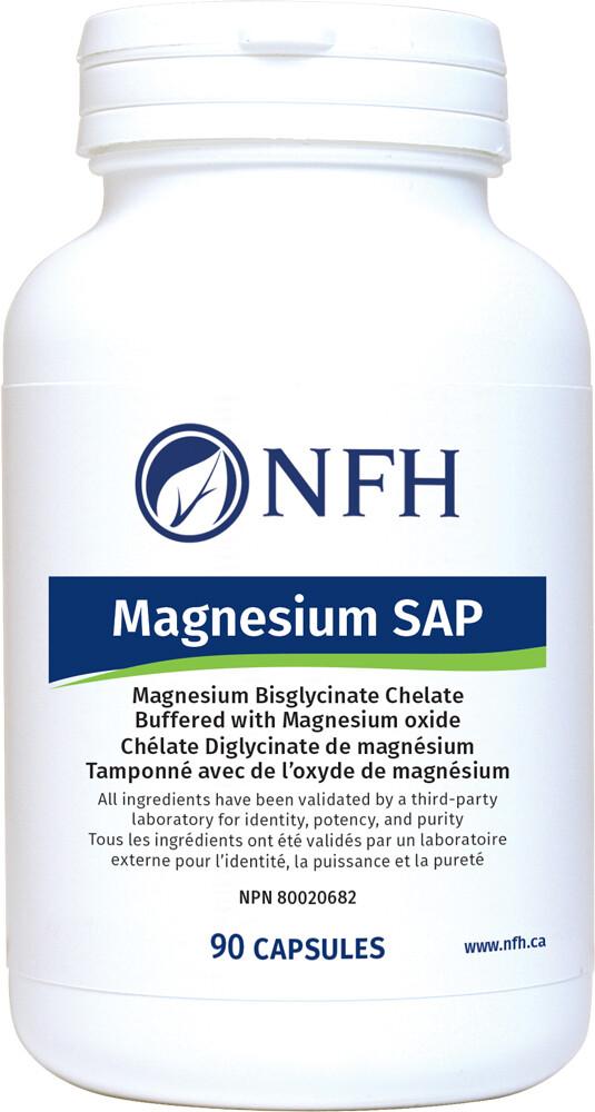 Magnesium SAP (90 Caps) - NFH