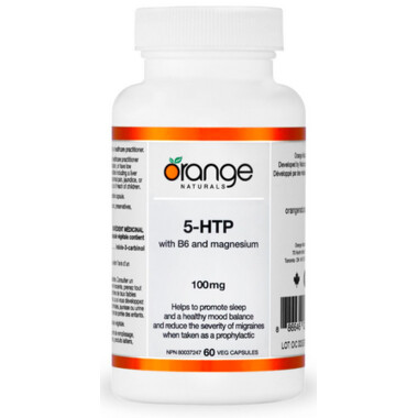 5-HTP with B6 & Mag  100mg (60 v-caps) | CanPrev