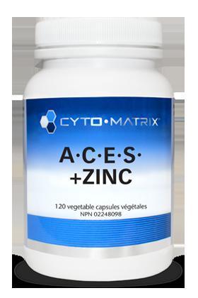 A.C.E.S. + Zinc (120 caps)   CanPrev