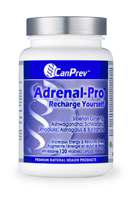 Adrenal Pro Recharge Yourself (120 v-caps) | CanPrev
