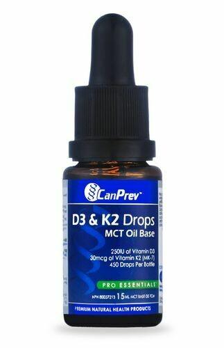 D3 & K2 15ml | CanPrev