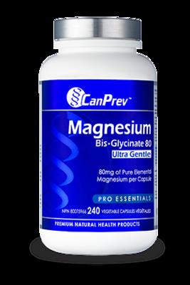 Magnesium Bis Glycinate 80 Ultra Gentle (240 v-caps) | CanPrev
