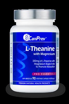 L-Theanine 250mg (60 v-caps) | CanPrev