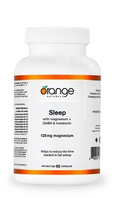 Sleep - Magnesium + GABA & Melatonin (90 v-caps) | CanPrev