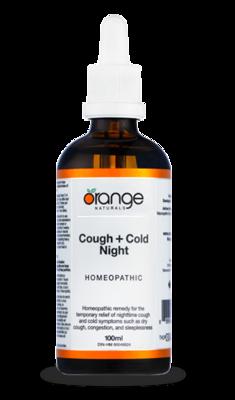 Cough + Cold  Night 100ml | Orange